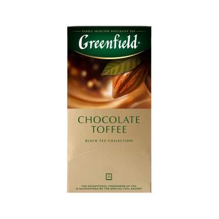 Чай черный Greenfield Chocolate Toffee 25 пакетиков