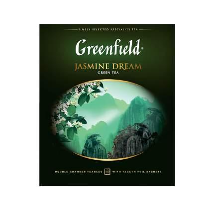 Чай зеленый  Greenfield Jasmine Dream 100 пакетиков