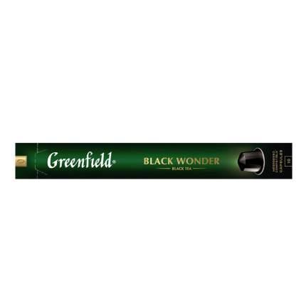 Чай черный в капсулах Greenfield Black Wonder 10 капсул