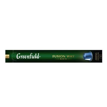 Чай черный в капсулах Greenfield Fusion Way 10 капсул