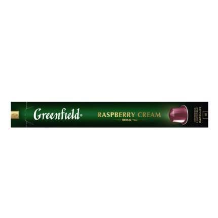 Чай травяной в капсулах Greenfield Raspberry Cream 10 капсул