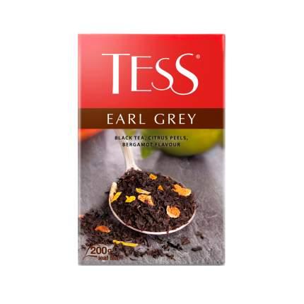 Чай черный листовой Tess Earl Gray 200 г