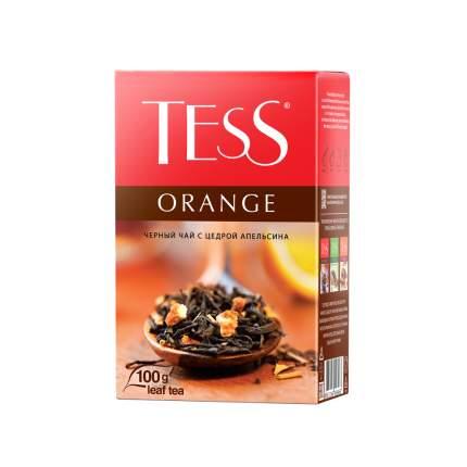 Чай черный листовой Tess Orange 100 г