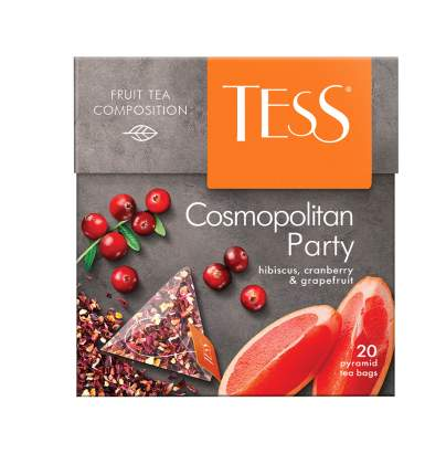 Чайный напиток в пирамидках Tess Cosmopolitan Party 20 пакетиков