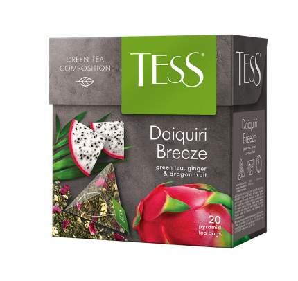 Чай зеленый в пирамидках Tess Daiquiri Breeze 20 пакетиков
