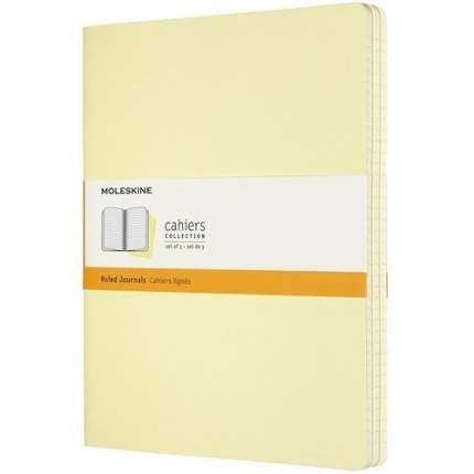 """Блокнот """"Cahier"""" XLarge, 60 листов, в линейку, желтый"""