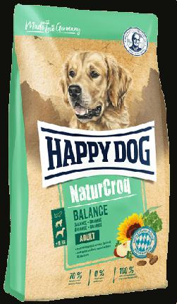 Сухой корм для собак Happy Dog NaturCroq Balance Adult, все породы, птица, 1кг
