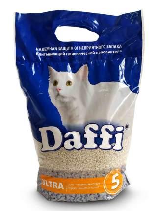 Впитывающий наполнитель для кошек Daffi ULTRA глиняный, мелкая гранула, 4 кг, 5 л