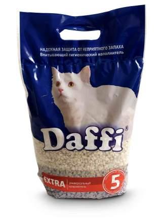 Впитывающий наполнитель для кошек Daffi EXTRA глиняный, средняя гранула, 4 кг, 5 л