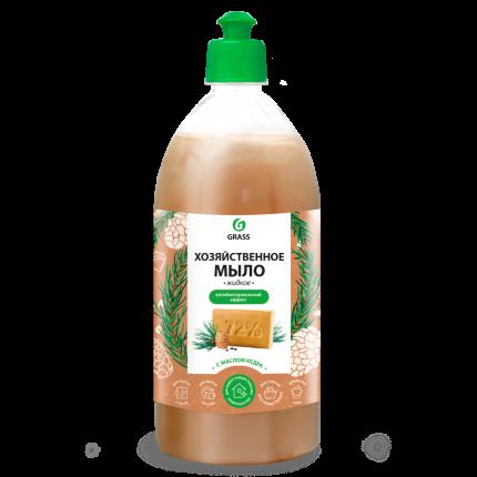 Мыло жидкое хозяйственное с маслом кедра GraSS 1000 мл