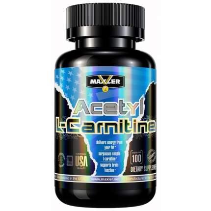 Maxler Acetyl L-Carnitine, 100 капсул