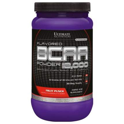 Ultimate Nutrition BCAA 12000 457 г лимон/лайм