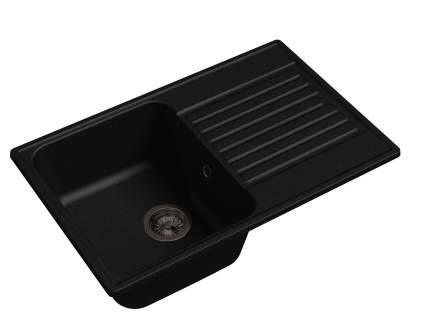 Мойка для кухни мраморная GranFest Quarz ECO Z-78 черный