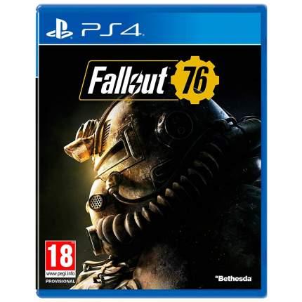 Игра Softworks Fallout 76 для PlayStation 4