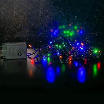 Электрогирлянда Старт 100 ламп, нить, 14874