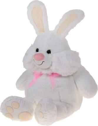 Мягкая игрушка СмолТойс зайка яша белый 78 см