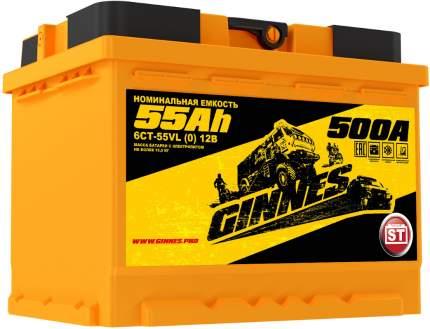 Аккумулятор автомобильный GINNES 6СТ-55.0 GY5501