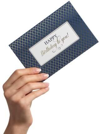 """Набор из 18 дизайнерских поздравительных открыток """" Happy B-Day Whiten Gray """""""