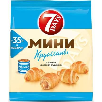Круассаны мини 7DAYS c вареной сгущенкой 300 г 4 упаковки