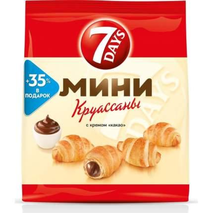 Круассаны мини 7DAYS c кремом какао 300 г 4 упаковки