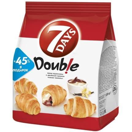 Круассаны мини 7DAYS c кремом какао-ваниль 105 г 10 упаковок