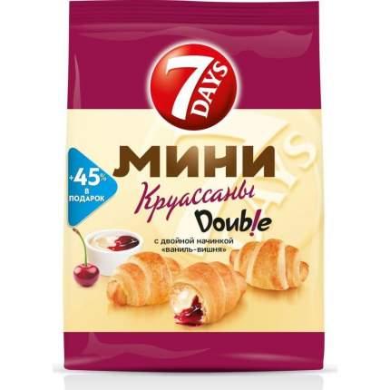 Круассаны мини 7DAYS c двойной начинкой ваниль-вишня 105 г 10 упаковок