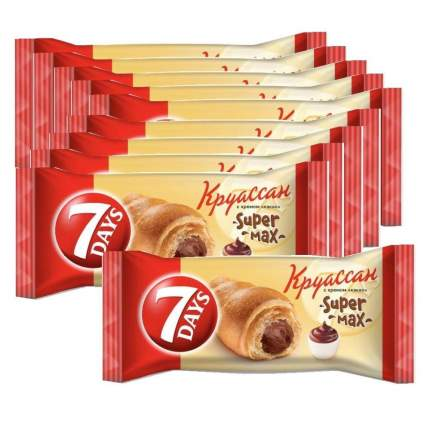 Круассаны 7DAYS с кремом какао 110г 10 упаковок
