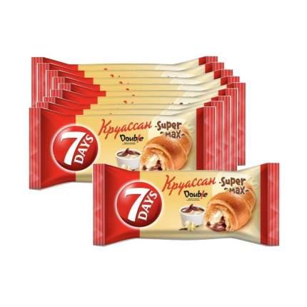 Круассаны 7DAYS с кремом какао-ваниль 110г 10 упаковок