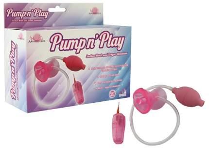 Помпа с вибрацией Howells Pumpn розовая