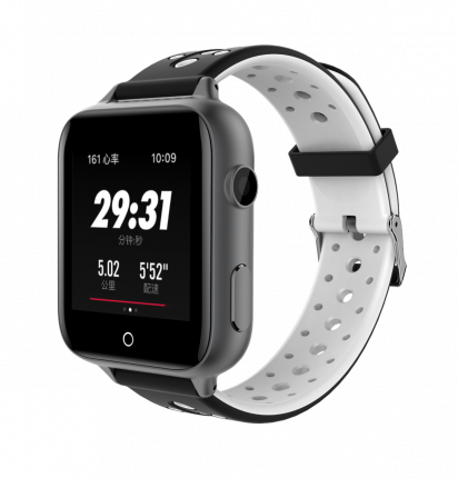 Детские смарт-часы Smart Baby Watch RW37 Silver/Black