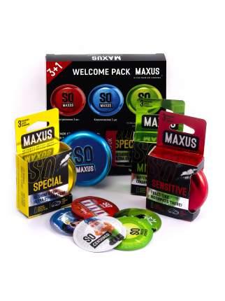 Презервативы Maxus Промо набор Welcome pack 4 упаковки по 3 шт.