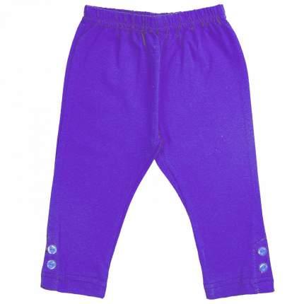 Леггинсы детские Юлла, цв. фиолетовый р. 104