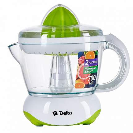 Соковыжималка электрическая Delta DL-0234 White/Green