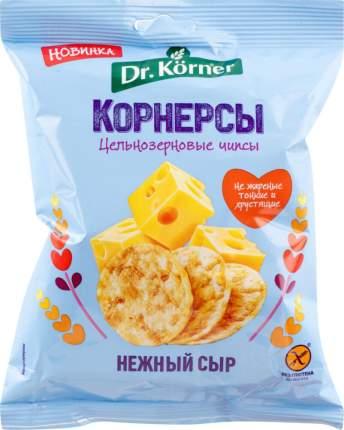Чипсы  Dr.Korner цельнозерновые кукурузно-рисовые с сыром 50 г