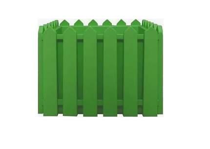 Ящик с поддоном Лардо, 28х28 см, светло-салатовый, арт. ЭП 205838 ЭЛЛАСТИК-ПЛАСТ