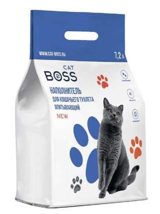 Впитывающий наполнитель для кошек CatBoss цеолитовый, 4.02 кг, 7.2 л