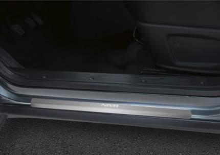 Накладки порогов Rival Chevrolet Niva I 2009-2013 2014-н.в., нерж. сталь, 4 шт., NP.1004.3