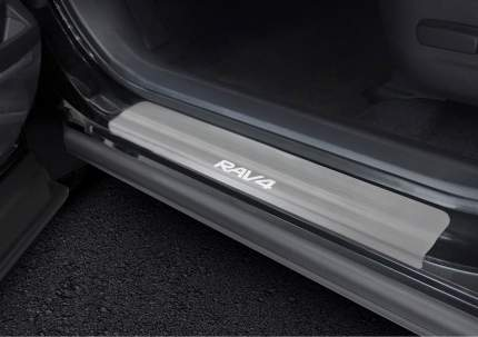 Накладки порогов Rival Toyota RAV 4 IV CA40 2012-2019, нерж. сталь, 4 шт., NP.5703.3