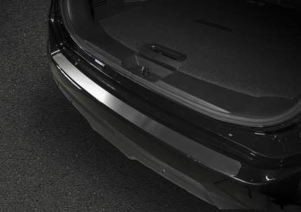 Накладка на задний бампер Rival Nissan X-Trail III T32 2015-2018, нерж. сталь, NB.4113.1