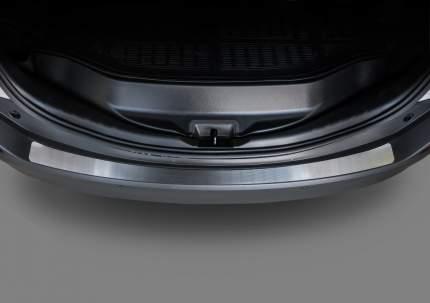 Накладка на задний бампер Rival для Toyota RAV 4 IV CA40 2012-2015, нерж. сталь, NB.5703.1