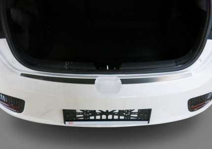 Накладки на задний бампер Rival Kia Ceed II хэтчбек 2015-09.2018, нерж. сталь, NB.H.2804.1