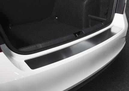 Накладка на задний бампер RIVAL для Skoda Rapid 2012-2020, нержавеющая сталь, NB.5104.1