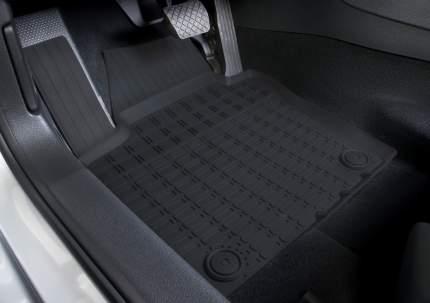 Коврики салона Rival Volkswagen Jetta VI SD 2010-2015 2014-н.в., резина, 5 шт., 65802001