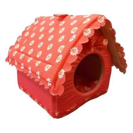 Домик для кошек и собак DOGMAN Будка большая (микс), в ассортименте, 50x40x40см