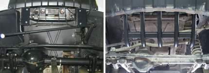 Защита рулевых тяг АвтоБроня УАЗ Patriot I 2014-2016 2016-, сталь 2.5 мм, 222.06321.1