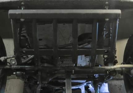 Защита рулевых тяг из трубы Автоброня для УАЗ Hunter 2003-н.в., сталь 2.5 мм, 222.06314.1