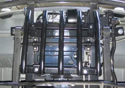 Защита рулевых тяг из трубы Автоброня УАЗ Буханка 2206, 3962 1965-, ST 2.5mm, 222.06318.1