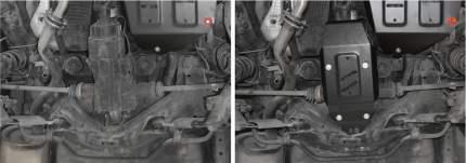 Защита редуктора АвтоБроня для Haval H6 4WD 2014-2019, штампованная, st 1.8mm, 111.09406.1