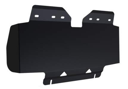 Защита радиатора АвтоБроня Nissan Patrol Y62 2010-, st 1.8mm, без крепежа, 1.04121.1
