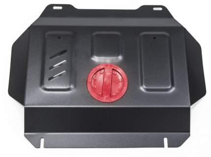 Защита радиатора и картера АвтоБроня Toyota Fortuner/Hilux 4WD 15-, без крепл., 1.09502.1